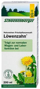 Salus Schoenenberger Frischpflanzensaft Löwenzahn