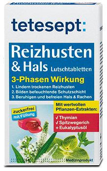 tetesept 3-Phasen Wirkung Husten & Hals Lutschtabletten