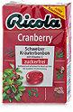 Ricola Schweizer Kräuterbonbon zuckerfrei Cranberry