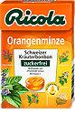 Ricola Schweizer Kräuterbonbon zuckerfrei Orangenminze