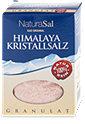 NaturaSal Himalaya Kristallsalz Granulat