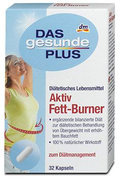 DAS gesunde PLUS Aktiv Fett-Burner Kapseln
