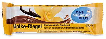 DAS gesunde PLUS Molke-Riegel Bourbon-Vanille-Geschmack