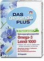 DAS gesunde PLUS Omega-3 Leinöl 1000 Kapseln