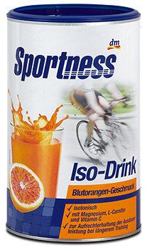 DAS gesunde PLUS Sportness Iso-Drink Blutorangen-Geschmack