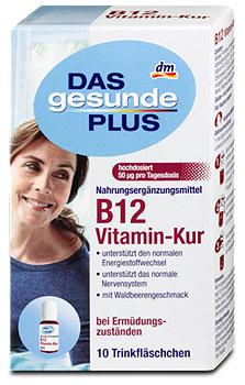 DAS gesunde PLUS B12 Vitamin Kur trinkfertige Ampullen