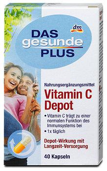 DAS gesunde PLUS Vitamin C Depot-Kapseln