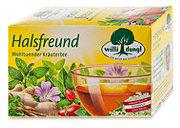 willi dungl Halsfreund Tee