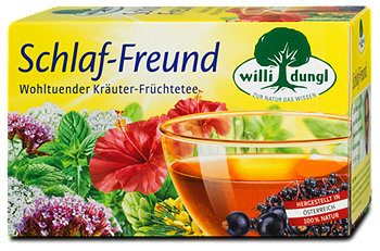 willi dungl Schlaf-Freund Tee