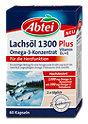 Abtei Lachsöl 1300 Omega-3-Konzentrat Plus D3+E Kapseln