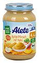 Alete für Genießer Fruchtbrei Apfel & Pfirsich mit Keks