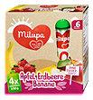 milupa Früchtemischung Apfel, Erdbeere, Banane