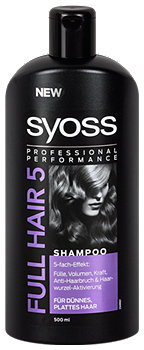 syoss Full Hair 5 Fülle & Volumen Shampoo