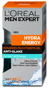 L'Oréal Men Expert Kühlendes Feuchtigkeitsgel Hydra Energy