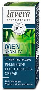 lavera Men sensitive Pflegende Feuchtigkeitscreme