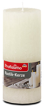 Profissimo Rustik-Kerze groß