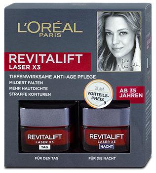 L'Oréal Revitalift Laser x3 Tag & Nacht Gesichtscremen
