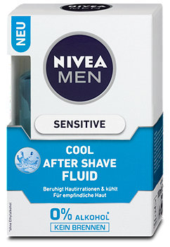 Nivea Men Sensitive Cool After Shave Fluid
