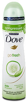 Dove compressed go fresh Deospray Gurke und Grün Tee