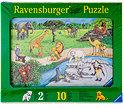 Ravensburger Puzzle 10 Teile sort.