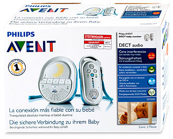Avent DECT Audio Baby Monitor SCD 505