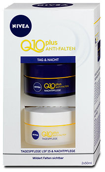 Nivea Q10+ Anti Falten Tages- & Nachtpflege Gesichtscreme