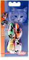 Nobby Fellmäuse mit Rassel Katzenspielzeug