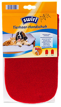 Swirl Tierhaar-Handschuh