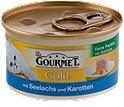 Gourmet Gold Katzenfutter Feine Pastete mit Seelachs
