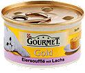Gourmet Gold Katzenfutter Eiersoufflè mit Lachs