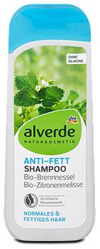 alverde Anti-Fett-Shampoo Brennnessel Zitronenmelisse