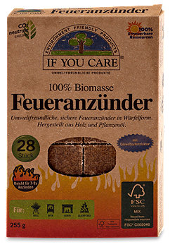If you care Feueranzünder