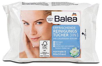 Balea erfrischende Reinigungstücher 3in1
