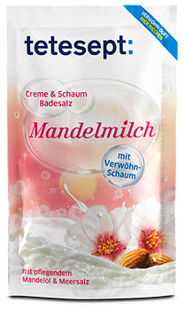 tetesept Badesalz Mandelmilch