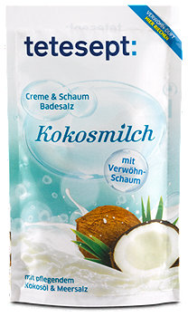 tetesept Badesalz Kokosmilch