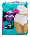 always discreet Pants plus bei Inkontinenz L