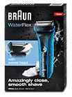 Braun WaterFlex Wet & Dry Akku- & Netzrasierer