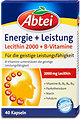 Abtei Energie + Leistung Lecithin + B-Vitamine Kapseln