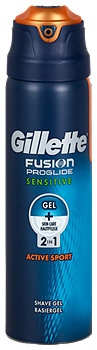 Gillette Fusion 2in1 Rasiergel Sensitive