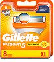 Gillette Fusion5 Power Rasierklingen Vorteilspack XL
