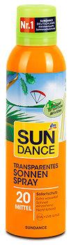 SUNDANCE Transparentes Sonnen Spray LSF 20
