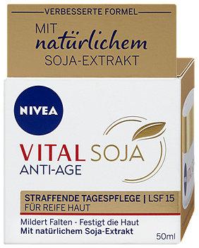 Nivea Vital Soja Anti-Age Tagespflege LSF 12