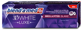 blend-a-med 3D White Luxe brillanter Glanz Zahncreme