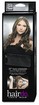 hairdo clip-in Haarverlängerung für gewelltes Haar