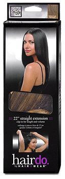 hairdo clip-in Haarverlängerung für glattes Haar