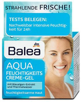Balea Aqua Feuchtigkeitscremegel
