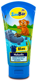 SauBär Malseife Blau