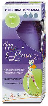 Me Luna Menstruationstasse sort.