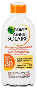 Ambre Solaire feuchtigkeitsspendende Sonnenmilch LSF 30