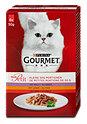 Gourmet mon Petit Katzenfutter Wild Leber Rind Beutel